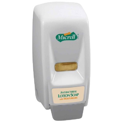 Gojo Micrell Push-Style 800mL Bag-In-Box Soap Dispenser