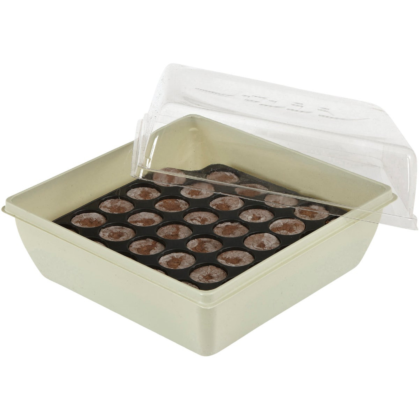Jiffy 34-Cell 11 In. x 11 In. Self Watering Greenhouse Seed Starter Kit Image 4