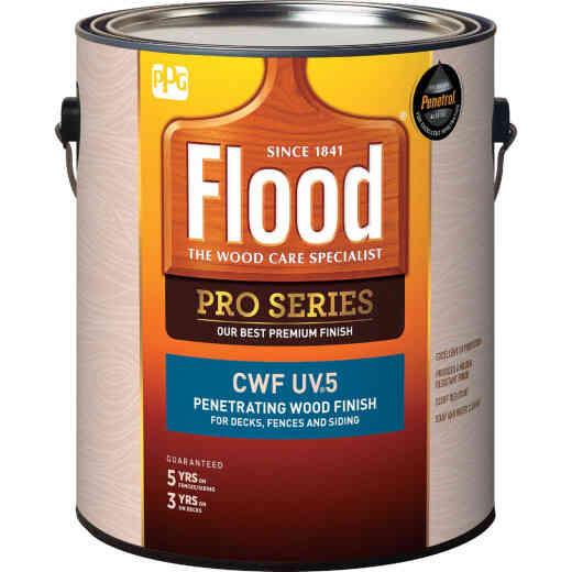 Flood CWF - UV5 Pro Series Wood Finish Exterior Stain, Cedar, 1 Gal.